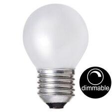 CROMPTON Incandescent Fancy Round Light Bulb Screw E27 240V 60W Opal Dim 17935