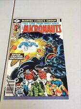 Micronauts (1979 series) #8  NM- (9.2) Marvel comics 1st app. Captain Universe