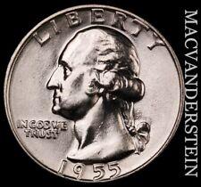 1955-D Washington Quarter- Choice Gem Brilliant Uncirculated #T1443