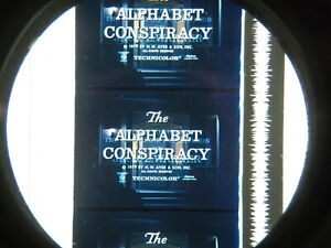 THE ALPHABET CONSPIRACY (1965) -IB TECHNICOLOR, BELL SCIENCE SERIES.