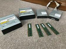 Computer parts. RAM, CD player / writer, floppy etc etc.