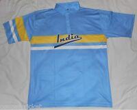 India Retro 80s 90s Style One Day ODI Indian Cricket Shirt