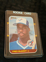 1986-87 Fred McGriff 621 Donruss Rookie Mint Baseball Card MLB