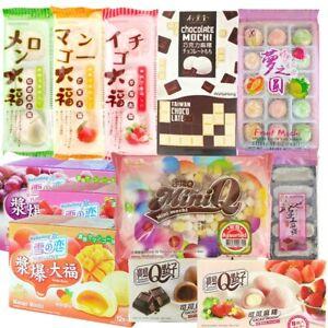 Japanese Mochi Daifuku Dessert Assorted Variety Snacks Box | Fast Dispatch