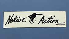 Native Action Maui Surf Sticker from 80s/90s - 10 in.
