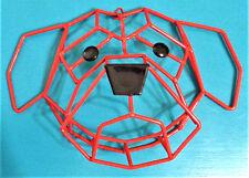 "Geometric 8"" x 12"" Orange & Black 3D Metal Dog Face Wall Decor Sculpture"