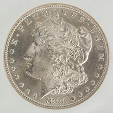 1882-CC Morgan Dollar NGC MS64 Brilliant White Luster Carson City