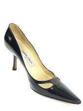 Jimmy Choo London Peep Toe Black Size  USA.6-6.5 Eur.36.5
