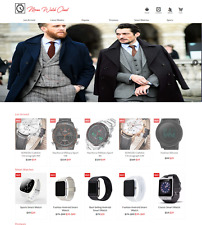 Mens Watch Turnkey Ready Made Hot Drop Ship Website FREE LIFETIME WEB HOSTING