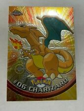 RARE 2000 Topps Chrome Pokemon #06 Charizard Holo Card