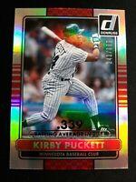 B74 2015 Panini Donruss Stat Line Season /339 Kirby Puckett #187 HOF