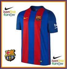 NIKE BARCELONA FC AUTHENTIC HOME  JERSEY  2016 2017  776850 481 SIZE LARGE