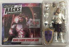"""KING LANCE STEELBLADE Boss Fight Studio 2019 VITRUVIAN HACKS 4"""" Inch FIGURE"""