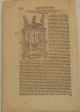 Kaiser Karl V. Orig Textblatt 1570 Adel Geschichte Habsburg BURGUND Niederlande