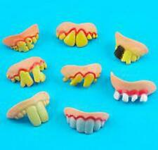 Tricky Funny Rubber Fake Halloween Costume False Teeth Dentures Funny Goofy