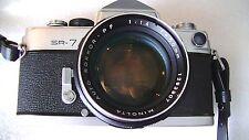 Vintage Minolta SR-7 film camera