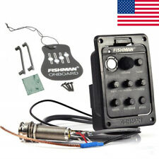 Presys Blend 301 4-Band EQ Tuner Preamp Pickup W/Mic for Acoustic Guitar BT US