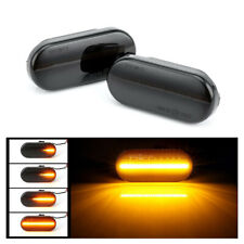 For VW T5 Dynamic Smoked Flowing LED Side Marker Signal Light Indicator Repeater