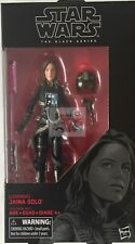 "JAINA SOLO (Legends) The Black Series Hasbro Star Wars 2017 6"" Inch FIGURE"