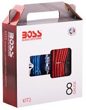 Boss Audio Systems Kit2 8 Gauge Amplifier Installation Wiring Kit - A Car Wiring