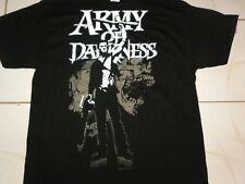 ARMY OF DARKNESS RAISED BOOMSTICK ASH T-SHIRT XL NEW Bruce Campbell Evil Dead