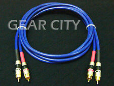 crc50 1m 3ft RCA Audio OFC Cable Gold Plug Phono CD Player Amplifier HiFi