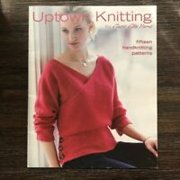 Classic Elite Yarns Uptown Knitting Pattern Book 2007 Sweaters Hats Crafts Fiber