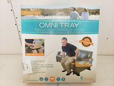 Stander Omni Tray Table, Adjustable Bamboo Swivel TV and Laptop Table FREE SHIP