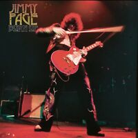 JIMMY PAGE - BURN UP - LIMITED EDITION RED VINYL LP NEU