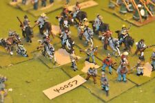 25mm ACW / confederate - mounted & dismounted 20 figures - cav (40057)
