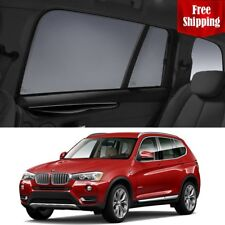 BMW X3 2014 F25  LCI Rear Side Car Window Blind Sun Sun Shade For baby Mesh