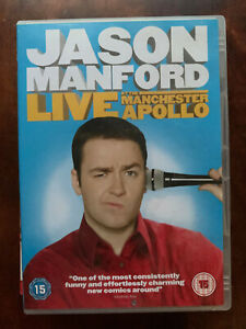 Jason Manford Live at the Manchester Apollo DVD 2009 Stand Up Comedy Show