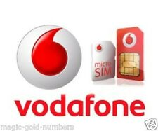 OFFICIAL Vodafone UK SIM Card  Pay As You Go Nano Micro Standard TRIO SIM CARD