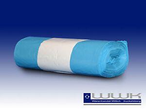 2500 Stück 120L Müllsack Abfallsack Müllsäcke Abfallbeutel blau
