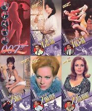 JAMES BOND THE WOMEN OF WIDEVISION MOVIE 1997 INKWORKS BASE CARD SET OF 72