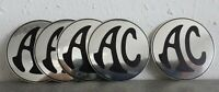 AC Ace, Bristol, Greyhound Cobra Aufkleber Chrom Sticker 50 mm chrome