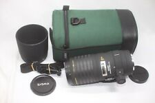 Sigma AF 180mm F/3.5 Macro APO EX IF HSM Lens For Canon EF Made In Japan w/ Case