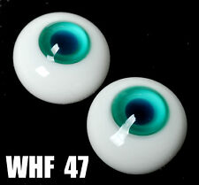12MM Blue Pupil Green Glass BJD Eyes Outfit for BJD AOD DD Doll Volks Luts Doll