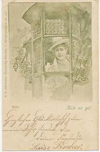 BAYERN Henry Bleib mir gut! F.A. Ackermann Kunstverlag München Künstlerpostkarte