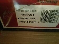 WILLIAMS BACHMANN Pennsylvania green 5 stripe GG1 NIB 41806