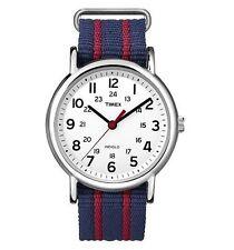 Timex Stainless Steel Case Nylon Strap Wristwatches