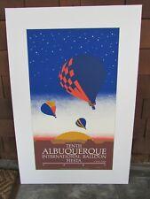 1981 Albuquerque Balloon Fiesta Poster