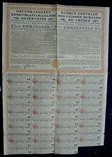 5% Obligation Finnland Helsinki 8 £ 1000 Francs 1,555 Markor 1930 unentwertet