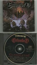 ENTOMBED (Swe) : CLANDESTINE CD 1991 EARACHE RECORDS ORG PRESSING DISMEMBER