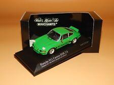Porsche 911 Carrera RSR 2.8 1973  Vipergrün 430736902 PMA / Minichamps 1/43 OVP!