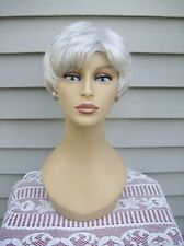 Paula Young PETITE Wig A1043 WISP AWAY Color #60 White Short Pixie Style