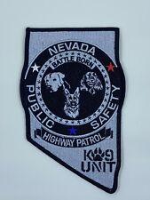 NEVADA HIGHWAY PATROL LAS VEGAS POLICE K9 UNIT PUBLIC SAFETY LIMITED 100 PATCH