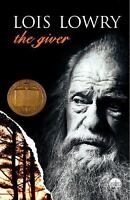 The Giver by Lois Lowry a paperback dystopian novel book FREE USA SHIPPING