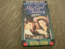 His Girl Friday Vhs tape Cary Grant, Rosalind Russell