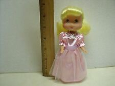 "Strawberry Shortcake Plamate toys 7"" Tall Lemon Meringue doll - VERY RARE HTF"